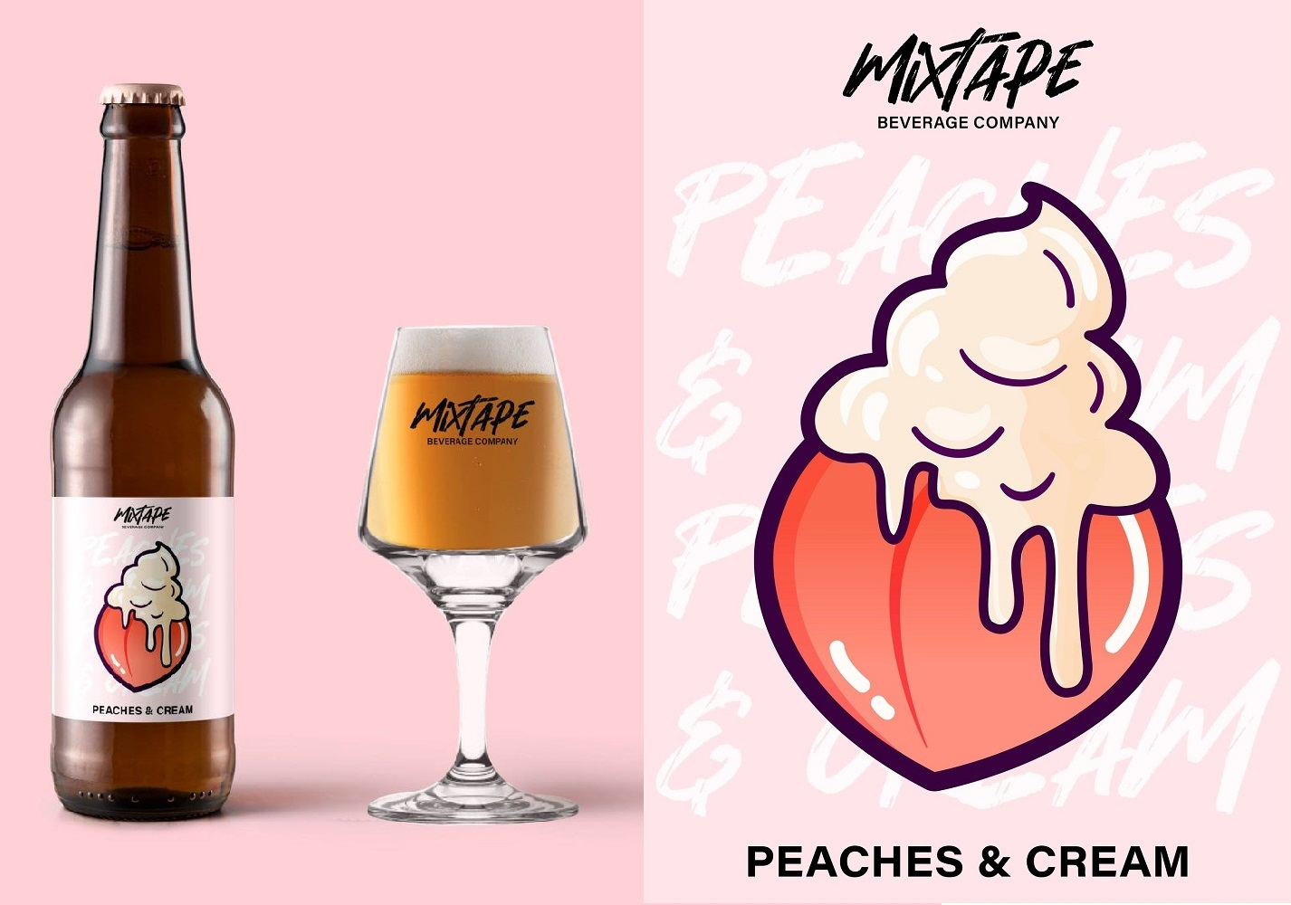 A peachy treat from new Vietnam craft brewer