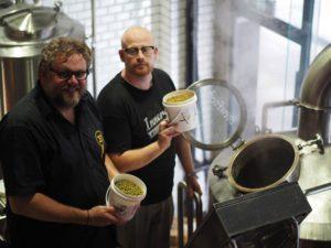 Gavin Hemple and Kjetil Jikiun brew together in 2015