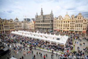 Brussels Grand Place on Belgian Beer Weekend 2019
