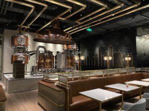 Copper brewhouse in Shenzhen Mercedes me storef Mercedes me S
