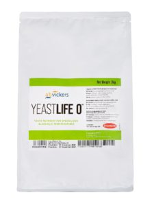 Product shot of Lallemand YeastLife O