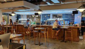 View of Thirty Six Brewlab bar